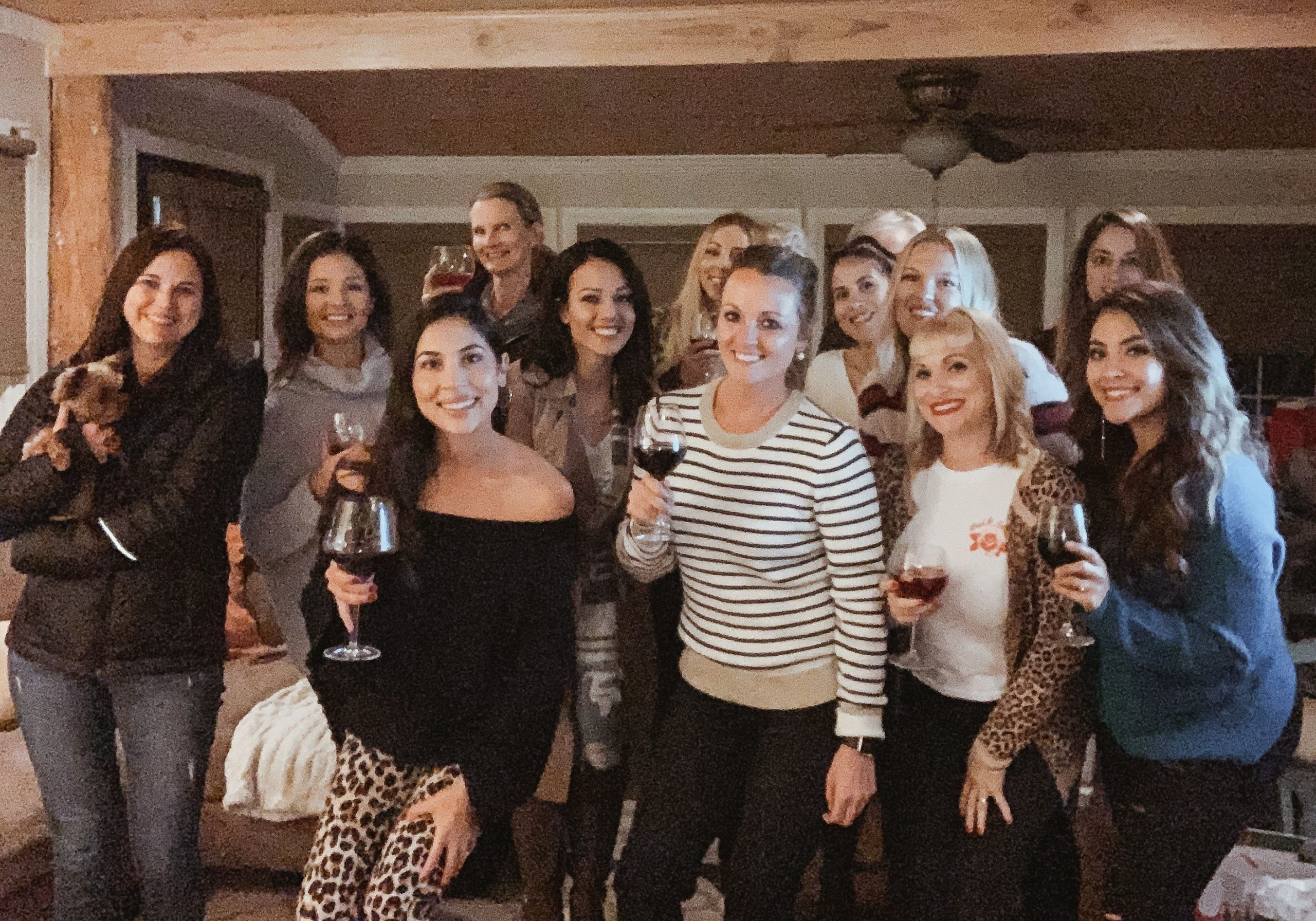 How to Build a Core Mom Group By Planning a Moms Night In