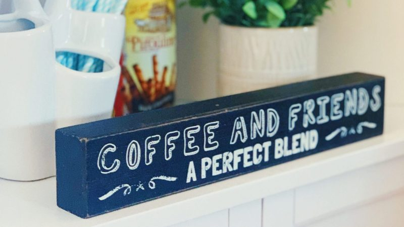 Coffee Sign From Home Goods