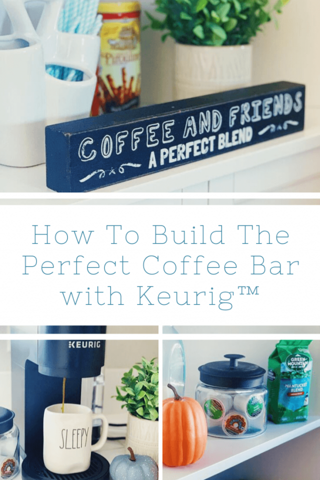 Pinterest Pin For Building A Coffee Bar