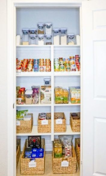 our pantry after Horderly organized it