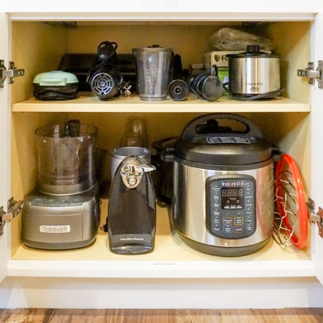 kitchen organization before and after