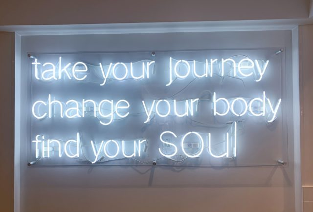 SoulCycle Sign Santa Monica