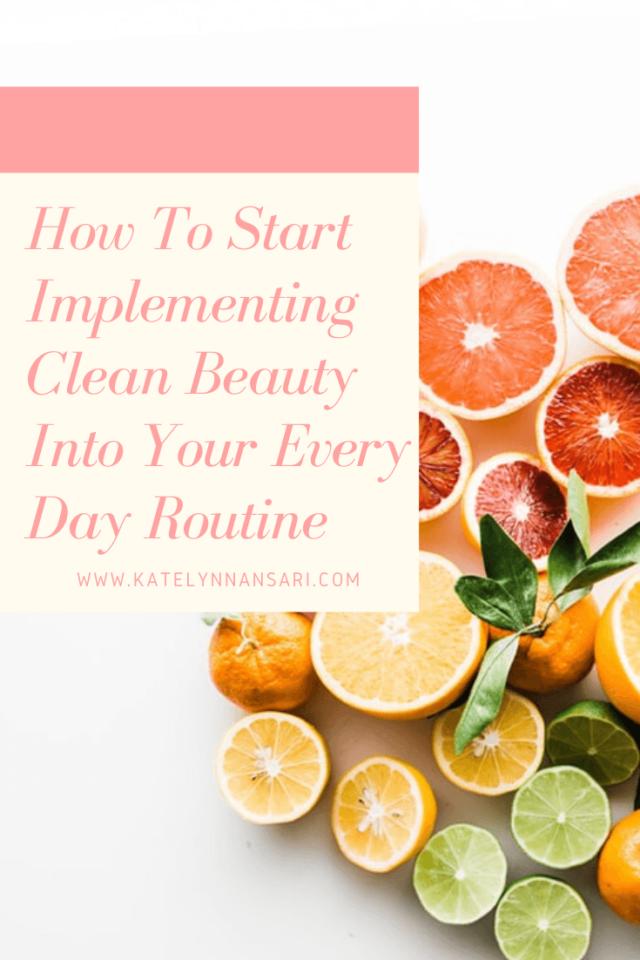 clean beauty blog pinterest