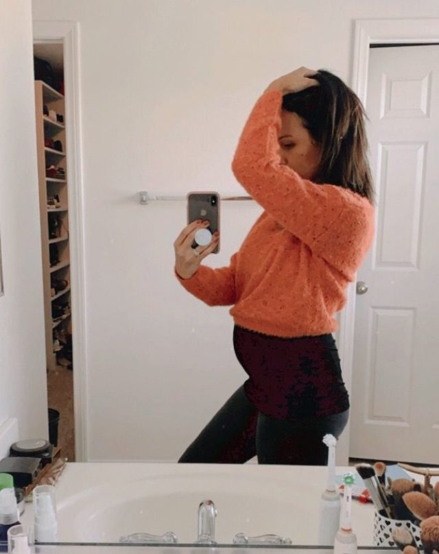 Target Sweater for Maternity clothes and stylish outfit