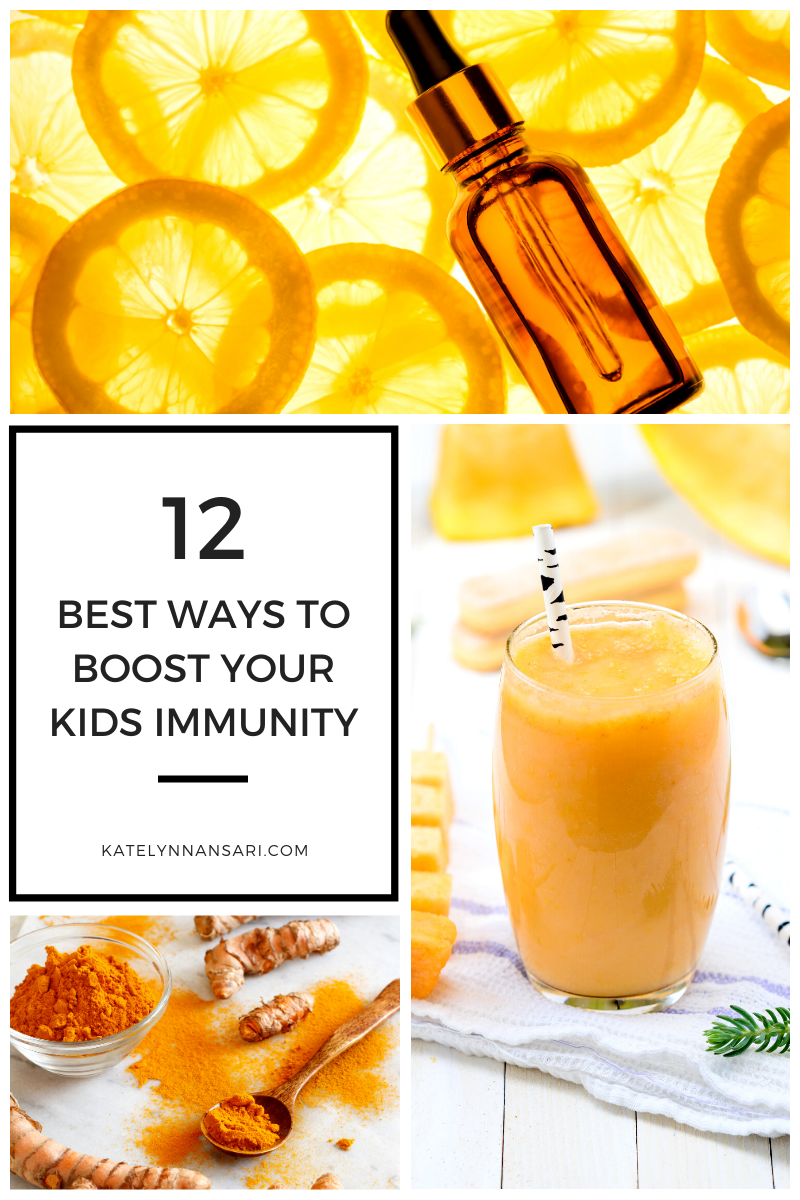 12 Best Ways to Boost your Kids Immunity